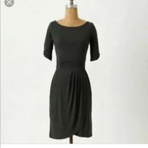 Anthropologie Weston Wear Gathered Hemlock Dress
